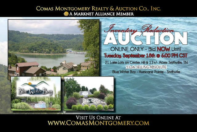 Comas Montgomery Realty & Auction Co. Postcard